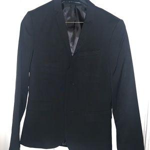 H&M HM Skinny Fit Blazer Sports Coat Mens Size 36R